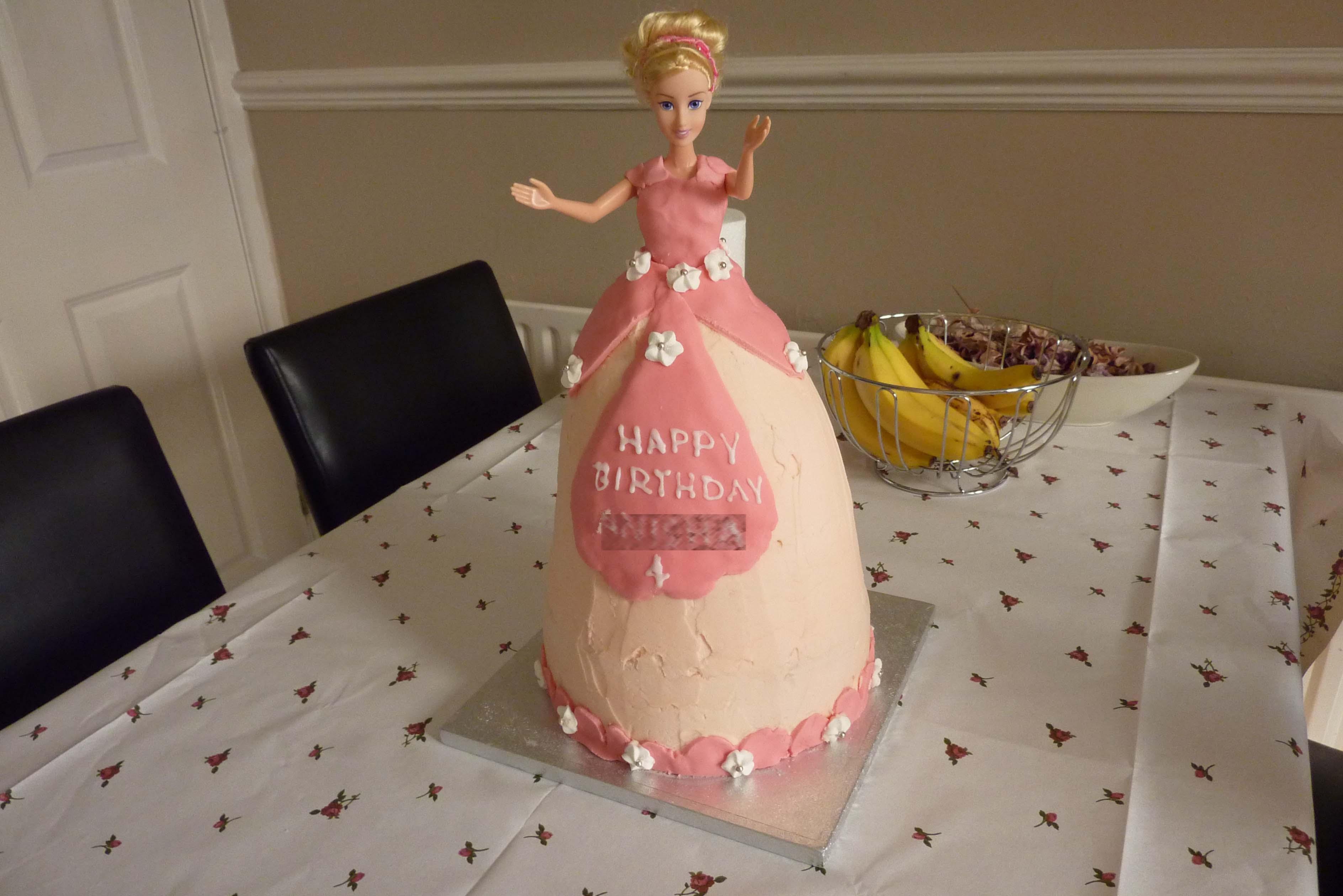 Birthday Cakes Images To Write Name ~ How to make a princess cake any excuse to writeu2026